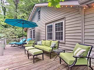NEW! Hendersonville Camp House w/ Wraparound Deck!