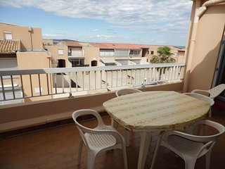 Rental Apartment Marseillan-Plage, 1 bedroom, 4 persons