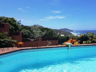 Villa saint pierre avec piscine et belle vue mer