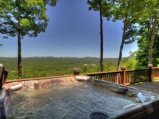 View from the Hot Tub