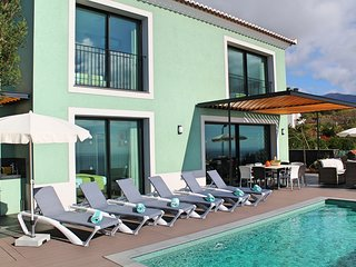 Fantastic new villa, heated pool, A/C panoramic sea-views | Eden Nature
