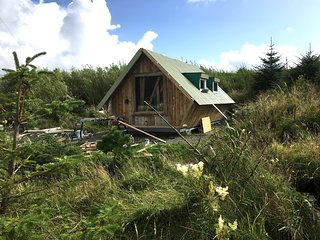 NEW Puffin Tiny House, Isle of Harris, Beach and SeaView's, 5 min. walk to beach