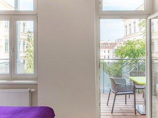 #39 Cube 70 - Dein stilvolles Altbauapartment in Wien (OpenSpace, Maximum 2 Pax)