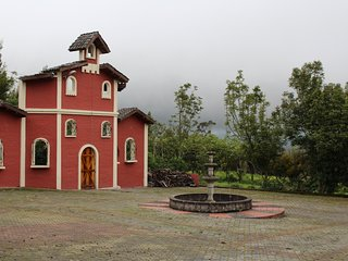 Hacienda La Gloria in the heart of the Andes