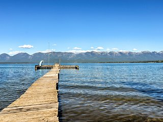 Polson Home On Flathead Lake w/Pvt Dock+Mtn Views!