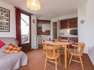 appartement avec 2 balcons vue pistes