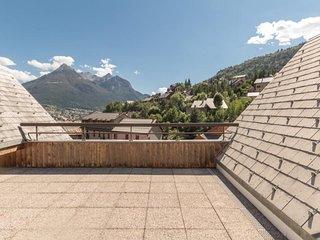 Duplex avec terrasse expose sud avec vue montagnes