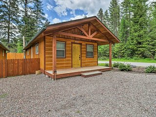Rustic Cabin - 11 Miles to Glacier National Park!