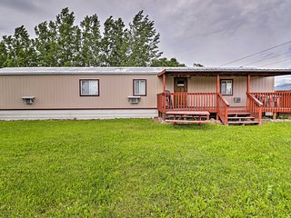 NEW! Columbia Falls Cottage w/ Deck & Grill!