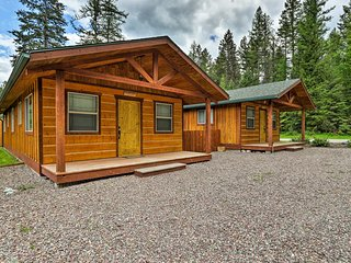 NEW! Hungry Horse Cabin w/ Patio & Fire Pit!