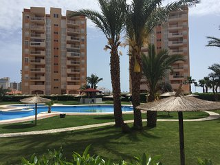 Spacious ground floor only 100 metres from the Mediterranean