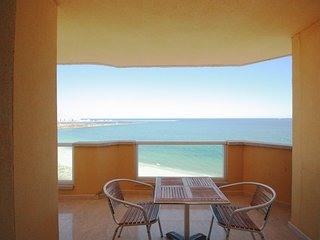 Superb penthouse perfectly located just steps from the beach...