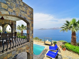 Villa Manzara, Yalikavak Bodrum, Private Pool open sea views