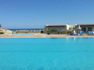 Lovely 2 bedroom apartment opposite restaurant and pool, Hilltop, North Cyprus