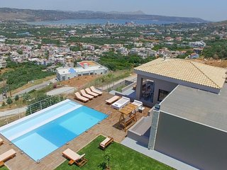 Villa Kedria with panoramic view