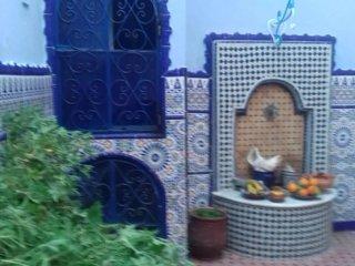 Riad Casa vacanza blu ocean nella medina di asSila tanger