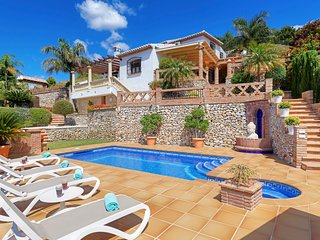 3 bedroom Villa in Frigiliana, Andalusia, Spain : ref 5623807