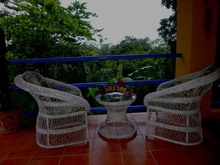 Luxury,Airconditioned  villa to rent on Sierpe riverfront with own boat deck