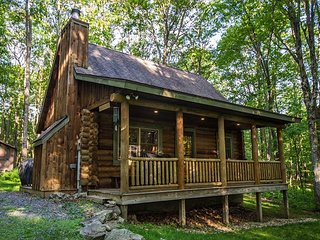 Cozy log cabin close to state parks and lake activities!