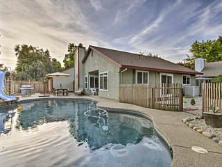 Modern Home w/ Pool & Office - Near DT Sacramento!