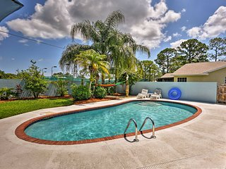NEW! Sebastian Home w/Private Pool -7mi from Beach