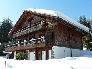 Chalet 4****, coeur de village, decoration cosy, spa, garage, WIFI