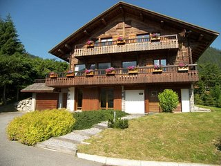 Chalet 4****, coeur de village, decoration cosy, spa, garage, WIFI