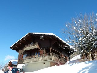 3*, chalet 10 personnes, ideal familles, cheminee, garage, WIFI