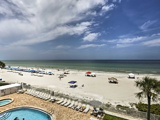 NEW! Beachfront Indian Shores Condo w/Pool Access!