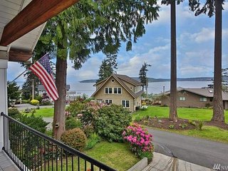 Spacious home with lush garden, nice bay views, peaceful location and more