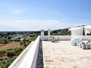 Dimora Martello - Villa Rococò with terrace and pool