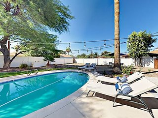 Remodeled Mid-Century Modern 3BR w/ Private Pool Oasis - Minutes to Old Town
