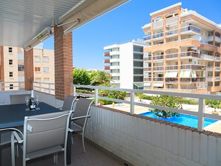 CENTER I 174: Splendid apartment on the seafront Boulevard, in the salou center!