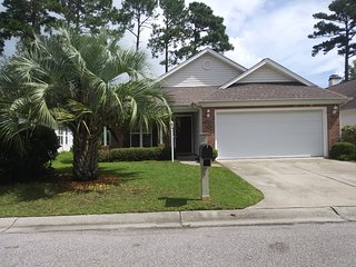 Perfect spacious vacation home in golf course area.