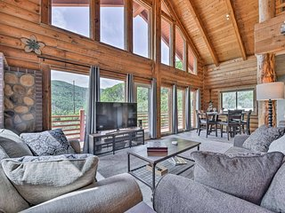 Cozy Eden Log Home Near Outdoor Activities!