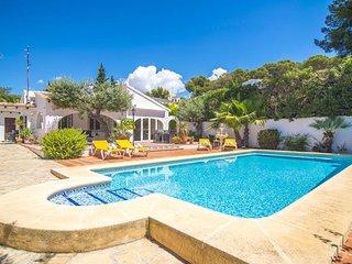 Villa Iluminada en Benissa,Alicante para 6 huespedes