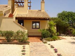 2 bedroom 2 bathroom holiday villa on Hacienda del Alamo Golf Resort and Spa