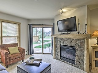NEW! Copper Mtn Condo w/ Views - Walk to Ski Lift!