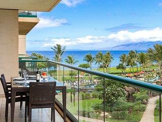 Maui Resort Rentals:  Honua Kai Hokulani 446 - Spacious 2BR w/ Partial Ocean & M