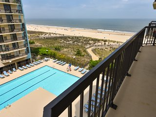 6th Floor Ocean Front Building, 1 Condo back from being direct ocean front