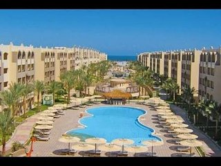 3 bedrooms apt at Nubia Aqua Beach Resort pool,sea view, 5th floor with Elevator