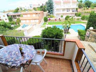 Apartamento en alquiler con piscina en Roses-Jard3-4b1