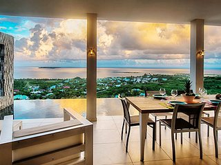 Villa Sunrise  ^ Ocean View # Located in  Fabulous Orient Bay with Private Pool