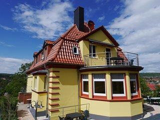 Zentral in Eisenach am Fuss der Wartburgwanderwege