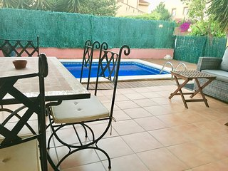 Cambrils Vilafortuny casa con piscina privada A/A parking muy acogedora