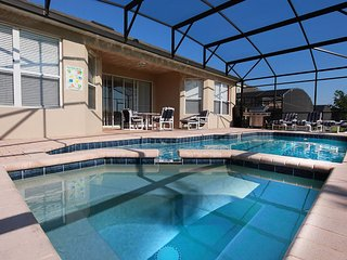 4 Bed/4 bath private pool home with grame room & spa