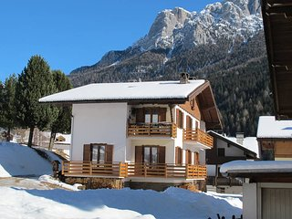 3 bedroom Apartment in Soraga, Trentino-Alto Adige, Italy : ref 5437852