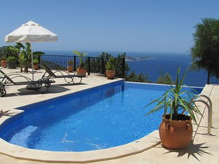 Spacious Detached Villa Sezen with Large Private Pool with Spectacular Sea View
