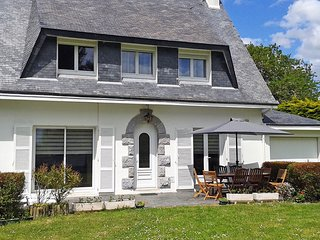 4 bedroom Villa in Trébérouant, Brittany, France : ref 5554368