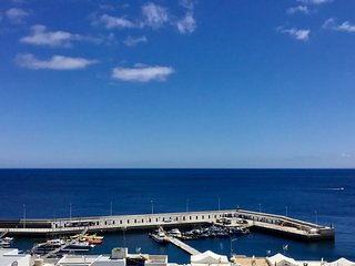 Sea & Harbour View Studio Old Town Puerto Del Carmen Large Balcony WiFi UK TV
